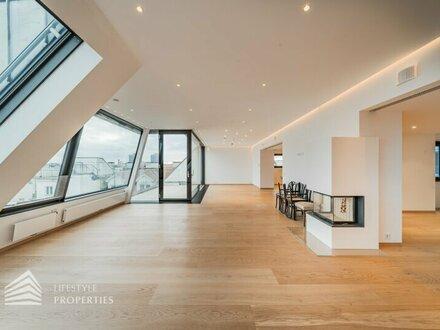 Exklusive 4-Zimmer-Dachgeschosswohnung mit Terrasse, Nähe Währinger Park