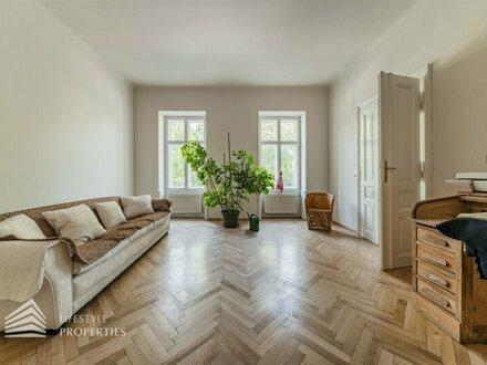 Traumhafte 3-Zimmer-Beletage-Altbauwohnung, Nähe Stadtpark