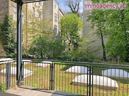 203m2 LOFT Büro mit 15m2 Süd-Balkon! im Margareten