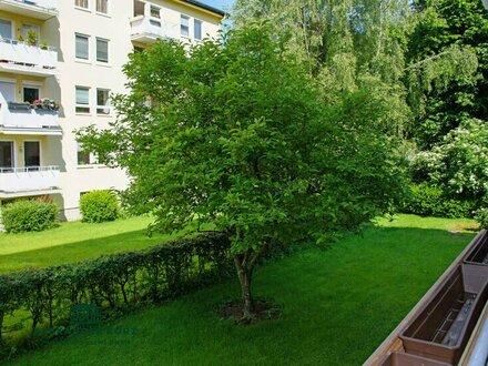 Neu renovierte, sehr ruhige 2-Zimmer-Wohnung mit Loggia