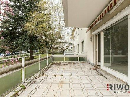 ++Familienhit++ sanierungsbedürftige Wohnung mit 4 Zimmern und großzügiger Terrasse im Herzen von Döbling