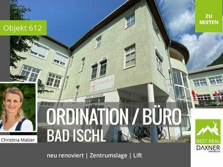 Frisch renovierte und variable Ordinations-, Praxis- oder Büroflächen in Bad Ischl zu mieten!