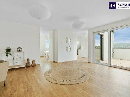 What a great Penthouse - auf einer Ebene und über 60 m² Dachterrasse on TOP! Genial!!!