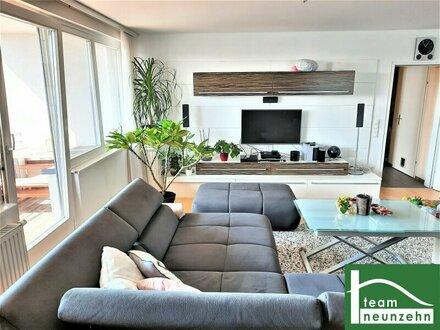 Perfekte Familienwohnung in Floridsdorf ! 4 Zimmerim 7. Liftstock mit Weitblick Richtung City und Kahlenberg !! Südwe…