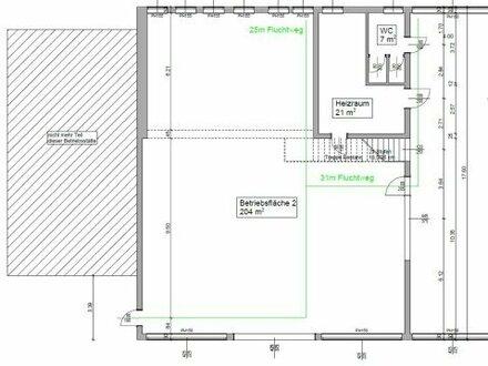 Gewerbeimmobilie zu mieten: 191 m² Lager-/ Produktionshalle in Melk