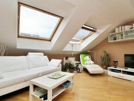 Nahe U3! Charmante Dachgeschosswohnung mit Miniterrasse zu vermieten!