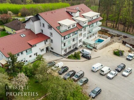 Erstbezug! Sensationelle 4-Zimmer Wohnung mit Balkon in Bahnhofsnähe