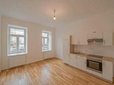 ++NEU++ Tolle 1-Zimmer Altbau-Wohnung mit Hofterrasse in guter Lage! (vis a vis des Parks!)