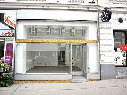Vermietet wird ein Geschäftslokal Nähe Aumannplatz