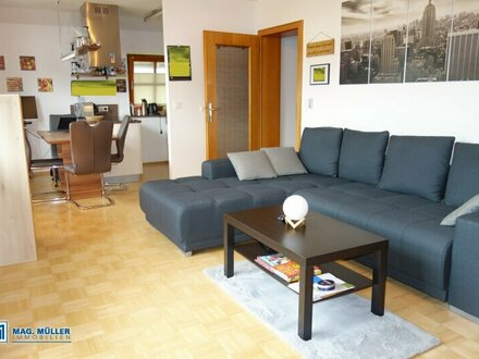 Wohlfühlzone - smarte 3-Zimmerwohnung in Ruhelage   Eugendorf