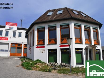 GEWERBEPARK DONNERSKIRCHEN - 10m2 - 1500m2! Lager, Werkstatt, Büro, Geschäft ab 25€ Netto/Monat! Zufahrt mit großen LKW…