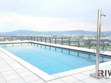 OBEN // Pool am Dach // Sauna // Fitness // Moderne Einrichtung // 4-Zimmer