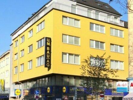 Modernes Wohn- und Geschäftshaus