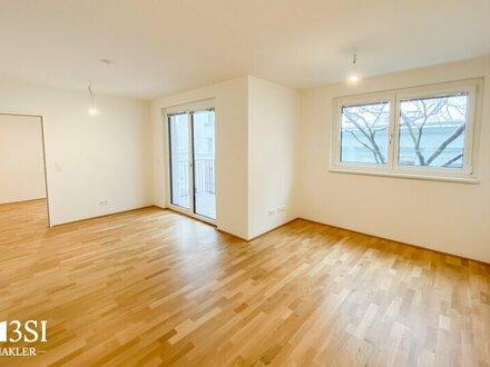 Erstbezug: Charmante 2-Zimmer Neubauwohnung mit Balkon und Top Ausstattung!