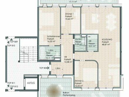 Bergblick: 4-Zimmer-Wohnung 1.OG Top B08