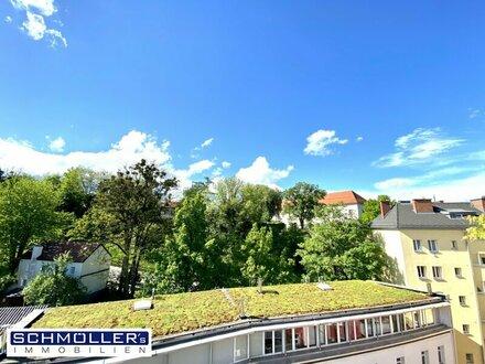 RESERVIERT! Exklusive Dachgeschoss-Maisonetten-Wohnung im Herzen von Linz