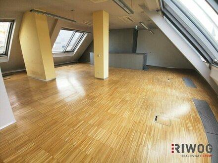 Modernes Dachgeschossbüro zwischen Naschmarkt und Mariahilferstraße!