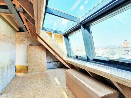Wohnen mit WOW-Effekt! 2 südseitige Terrassen + Ideale Raumaufteilung + Traumhaftes, rundum saniertes Altbauhaus! 3-4 Z…