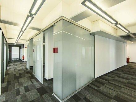 Zur Vermietung gelangt eine 300 m² größte Bürofläche mit Terrasse!