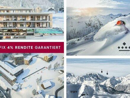 Anlegerwohnung im Top Skigebiet 4% Fix-Rendite