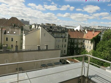 Dachgeschosswohnung - Fernblick / Terrasse auf Wohnebene/ ruhige Lage in U3 Nähe