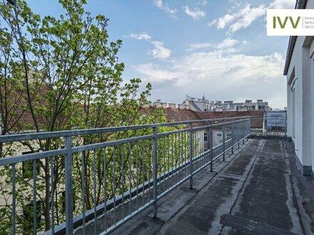 Über den Dächern: Traumhafte Dachgeschosswohnung ohne Schrägen!