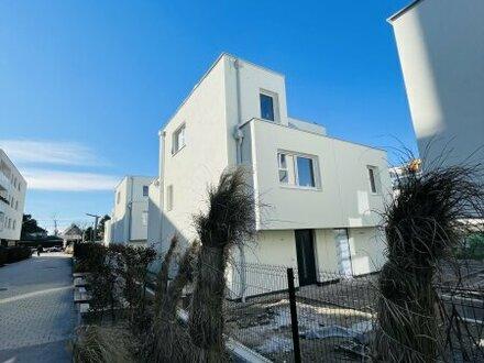 !!EIGENGRUND!! Tolle Doppelhaushälften im 21. Bezirk! BELAGSFERTIG! 4 Zimmer + Balkon + Terrassen! Ziegelmassiv Bauweis…