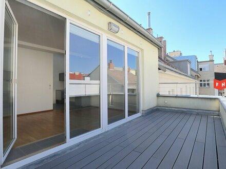 Komfortable Dachgeschosswohnung mit Terrasse im 16. Bezirk