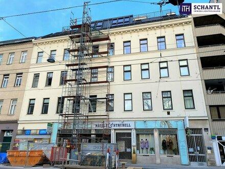 Sommer in der neuen Wohnung? Perfekt aufgeteilte 4-Zimmer Dachgeschoßwohnung mit gemütlicher Terrasse Richtung Innenhof!