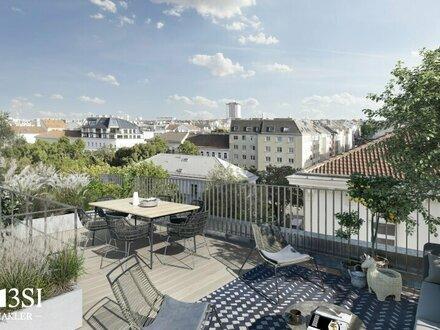 Park View: Luxuriöses Penthouse mit großzügiger Dachterrasse und schönem Wien Blick