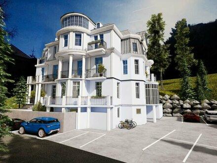 VILLA HISS: 1-Zimmer-Apartment mit Bergblick
