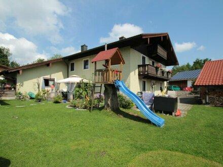 Ainring/Bayern - Maisonettewohnung mit großem Garten