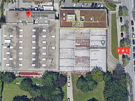 Betriebsliegenschaft mit multifunktionaler Lagerhalle & Bürotrakt im Gewerbegebiet Oberlaa (U1 Neulaa)