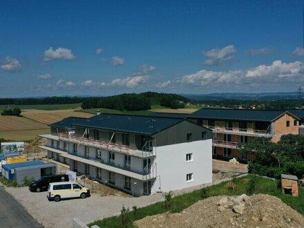 Schöne Neubau-Mietwohnung mit Tiefgaragenparkplatz