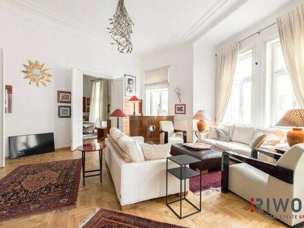 Repräsentative Luxus-Altbauwohnung in Top Ruhelage