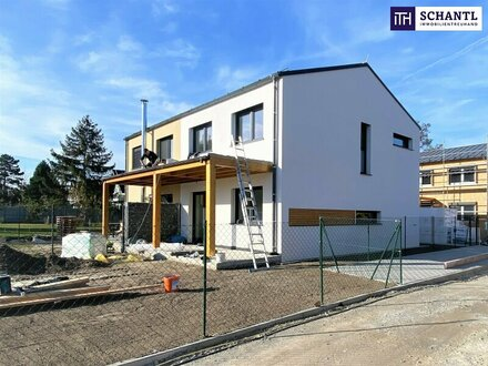 Nur noch 2 verfügbar! Doppelhaushälfte mit perfekter Raumaufteilung in absoluter Ruhelage zum fairen Preis!