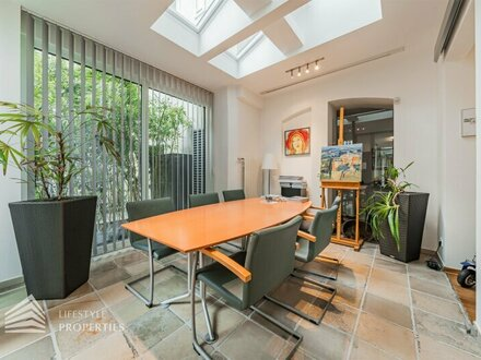 Exklusive 7-Zimmer-Praxis mit Garten, Nähe U3 Zieglergasse