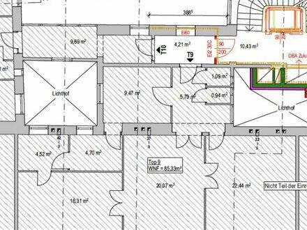 Charmante 3-Zimmer Wohnung in bester Lage des 9. Bezirks zu vermieten
