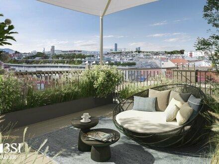 Central Mark: Luxuriöse Dachgeschoßwohnung mit Terrasse