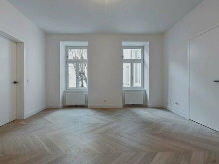 Grünruhe-Oase inmitten der Stadt! Zwei-Zimmer-Altbau-Erstbezug mit großzügiger Terrasse & Loggia in üppig begrüntem Inn…