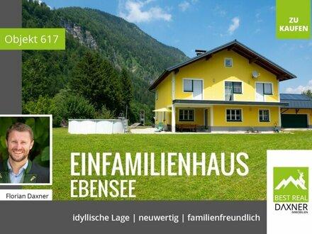 So nah am Wasser gebaut - Traumhaus in Ebensee am Traunsee!!