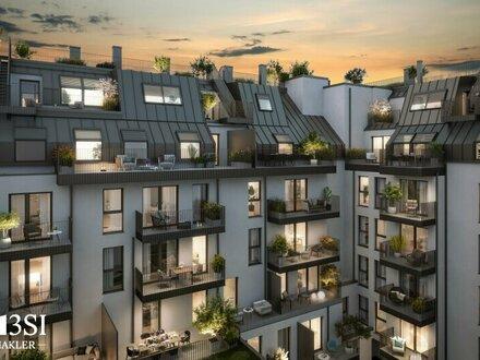 Lemonie: Sonnige 2-Zimmer Dachgeschoßwohnung in modernem Neubau