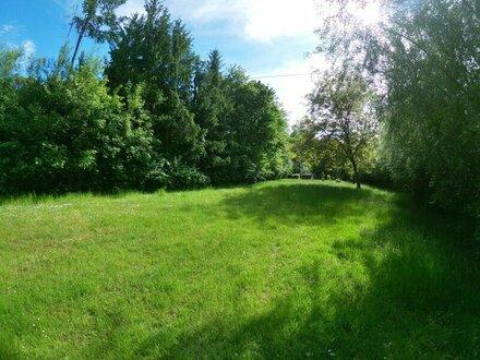 Grundstück in grüner Ruhelage
