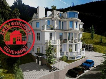 VILLA HISS: 3-Zimmer-Dachgeschoßwohnung mit traumhaftem Bergblick