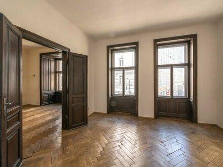 ++NEU++ Sanierungsbedürftige 3-Zimmer Altbauwohnung, fantastischer STILALTBAU! viel Potenzial!