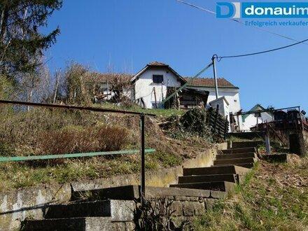 3400 Maria Gugging Grundstück mit tollem Ausblick und idyllischem Häuschen