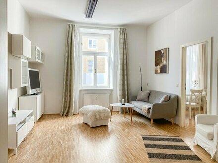 Wunderschöne 2-Zimmer-Altbauwohnung im Andräviertel