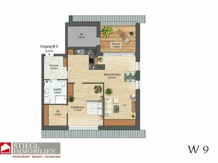 großzügige 2-Zimmer-Dachgeschoßwohnung in Maxglan mit Dachterrasse - provisionsfrei