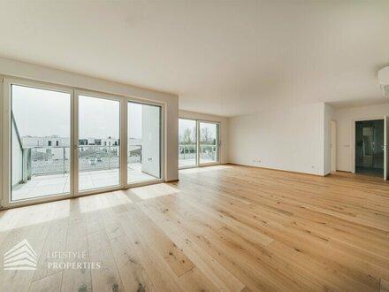 ERSTBEZUG! Exklusive 4-Zimmer Dachgeschosswohnung mit traumhafter Terrasse im 22. Wiener Gemeindebezirk