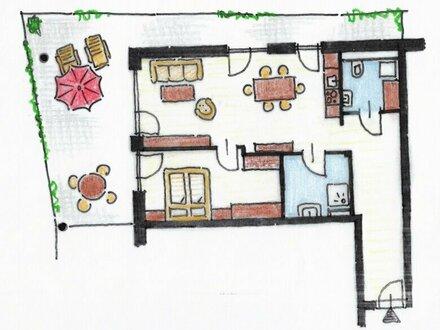 Wohnwert - Ebelsberg - TOP 7 Miete mit 37 m² Terrasse/Balkon !!